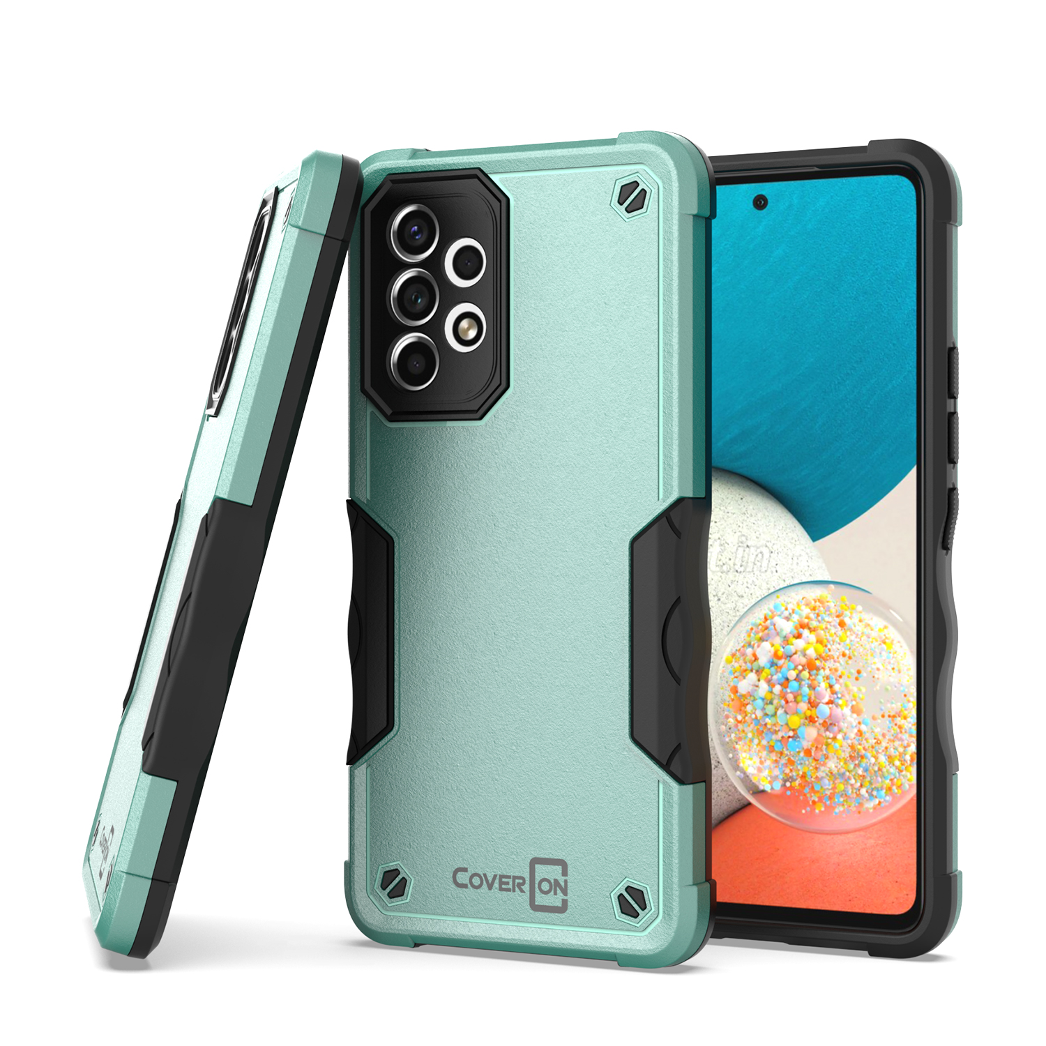Slim hybrid phone cover case for alcatel one touch evolve