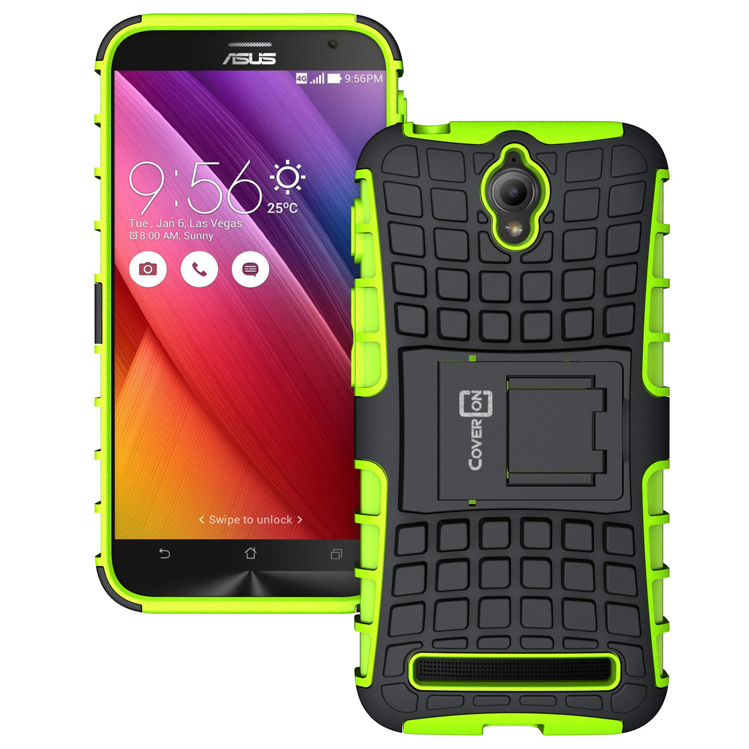 For Asus Zenfone Go 45 Case Hard Protective Kickstand