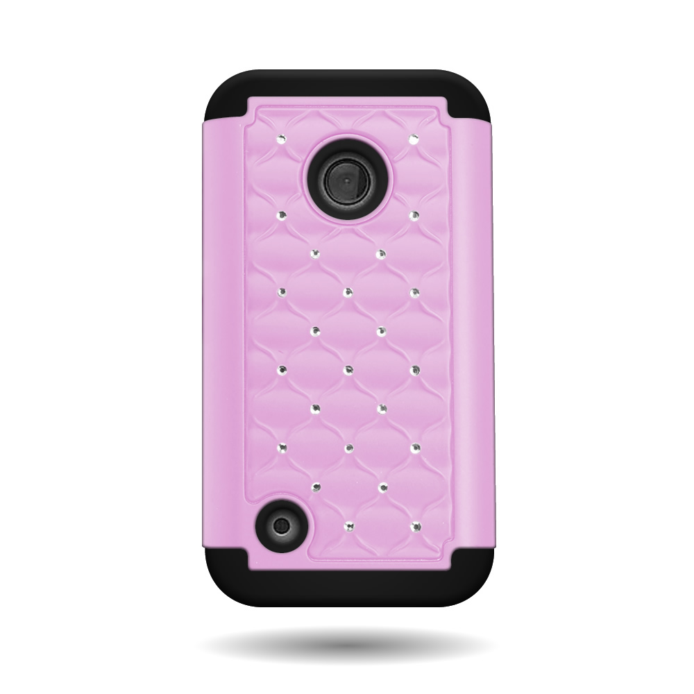 coveron174 for nokia lumia 530 case hybrid diamond phone