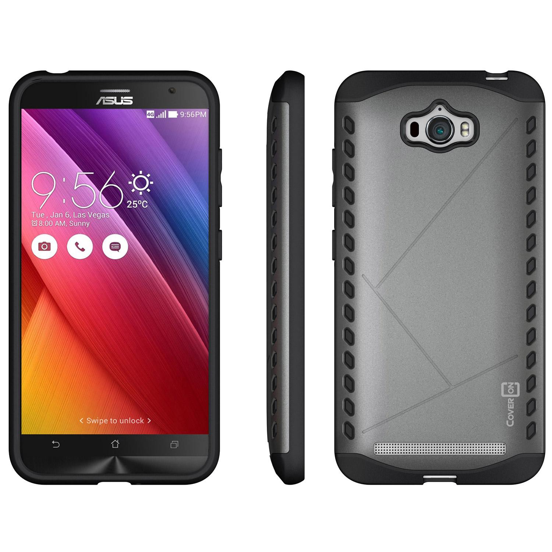 for asus zenfone max case hard modern hybrid slim phone cover ebay. Black Bedroom Furniture Sets. Home Design Ideas