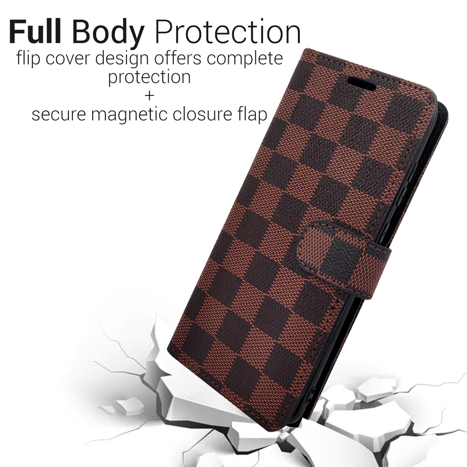 Wallet Pouch Design Phone Cover Case And Screen Protector