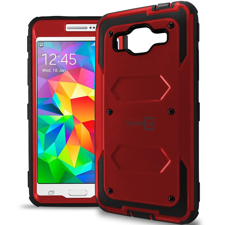 For Samsung Galaxy Grand. Hard Protective Hybrid Slim Phone