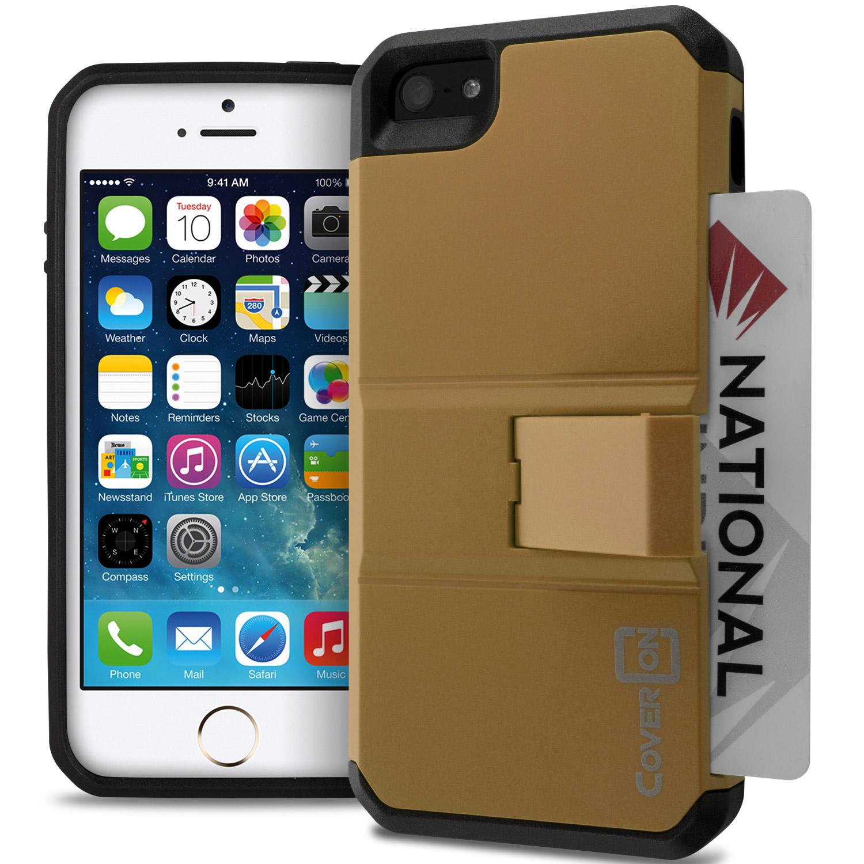 for apple iphone se case protective hybrid credit card. Black Bedroom Furniture Sets. Home Design Ideas