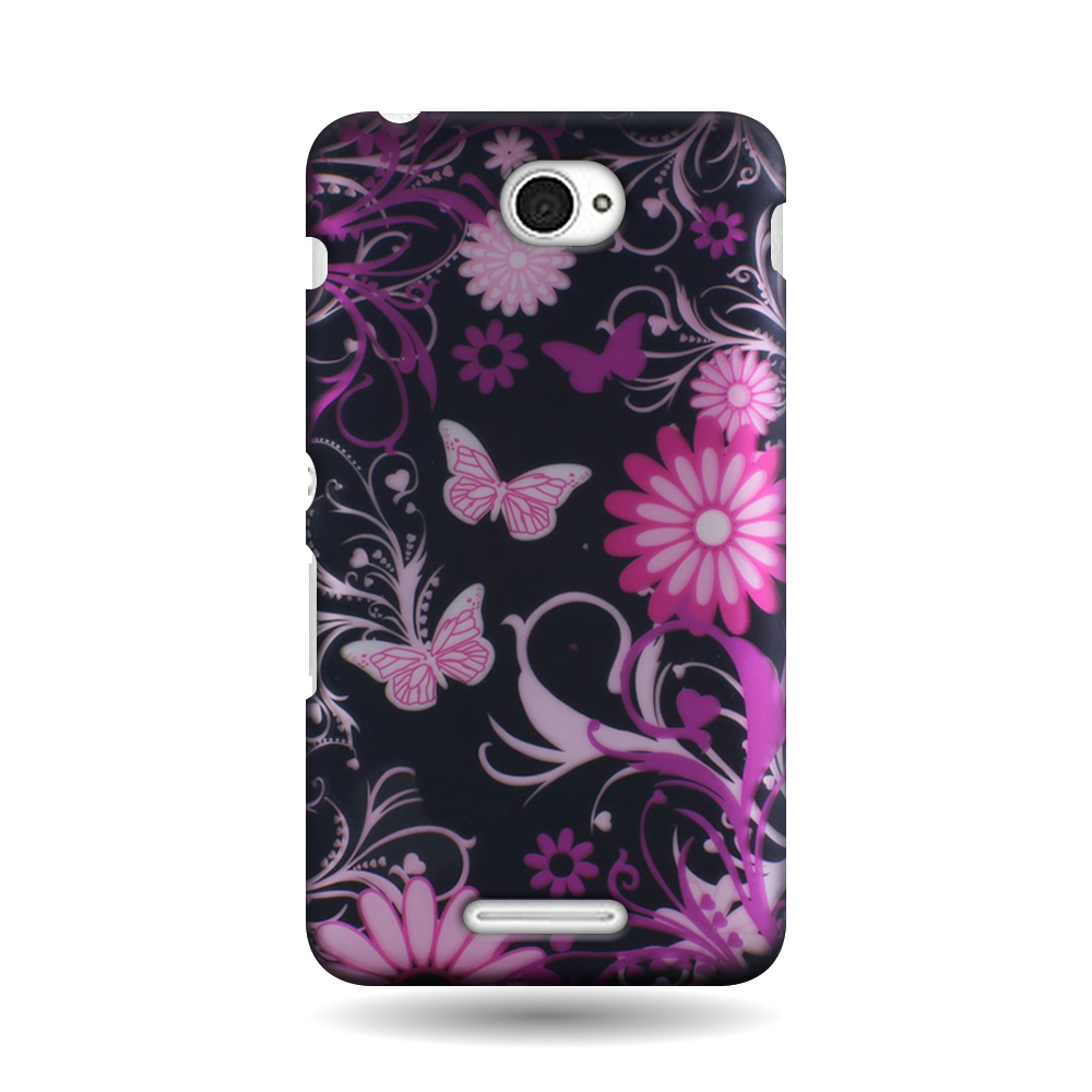 For Sony Xperia E4 Design Case Hard Slim Snap On Protective Phone Back Cover Ebay