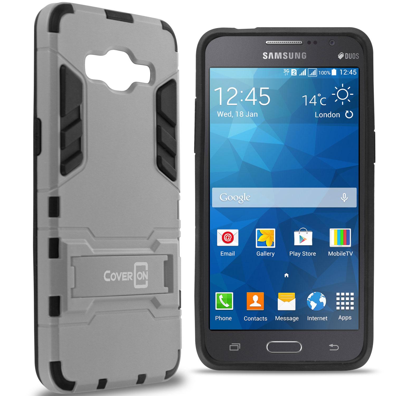 For Samsung Galaxy Grand Prime Case Hard Armor Slim ...