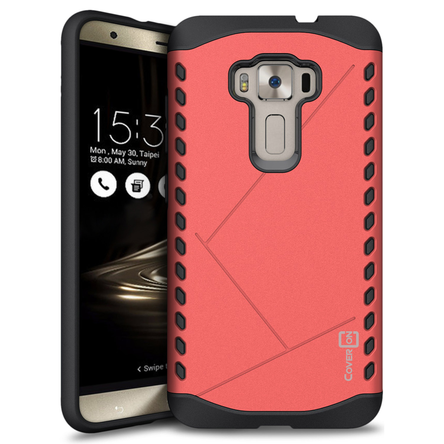 For Asus Zenfone 3 55 ZE552KL Case Armor Hard Modern