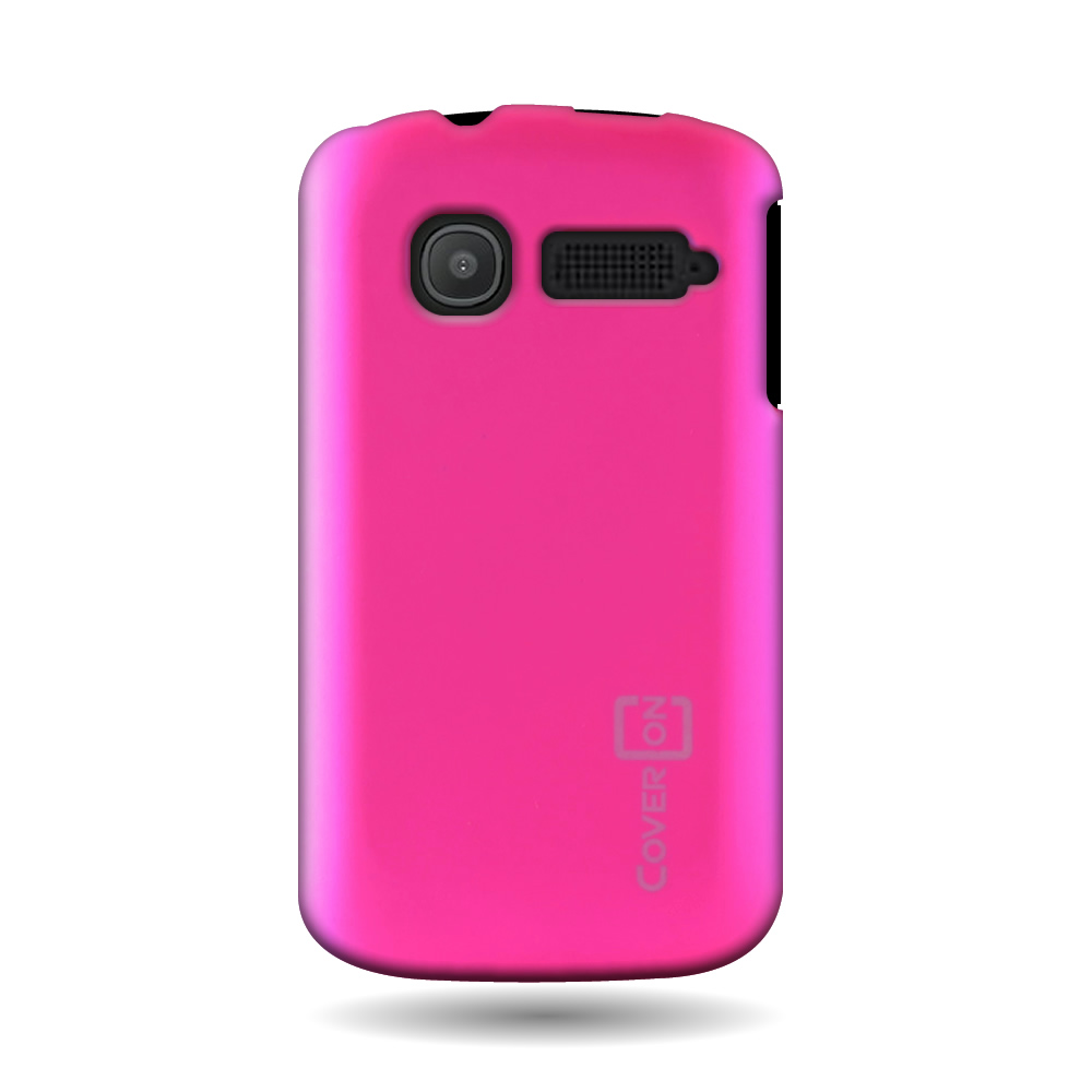 Hot Pink Hard Case For Alcatel One Touch Pop C1