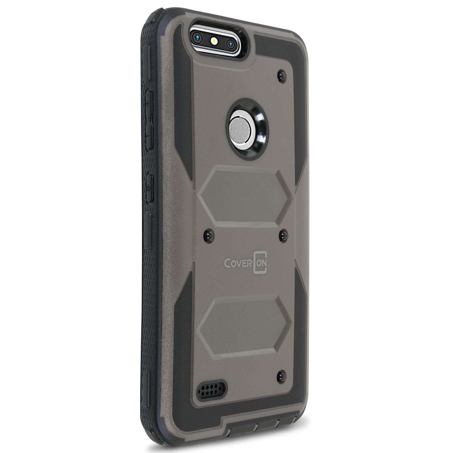 For Motorola Moto Z Force Droid Case Hard Kickstand Protective Cover ...