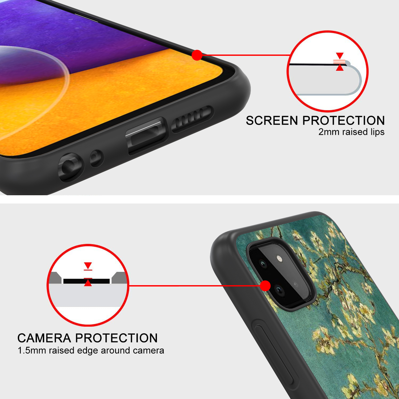 For Zte Zmax 2 Case Hybrid Slim Cover Tough Hard