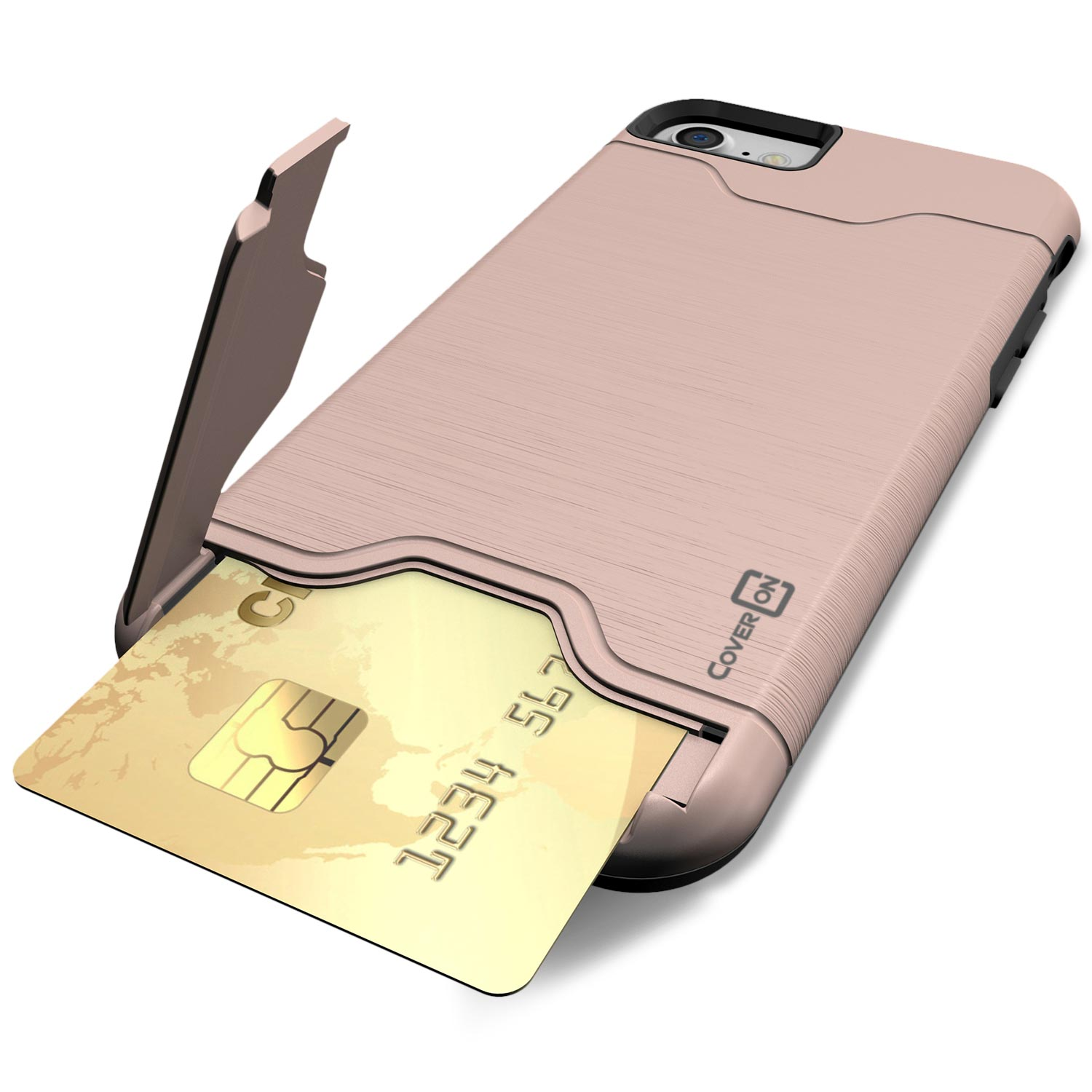 For apple iphone 8 iphone 7 card holder case with for Iphone business card holder