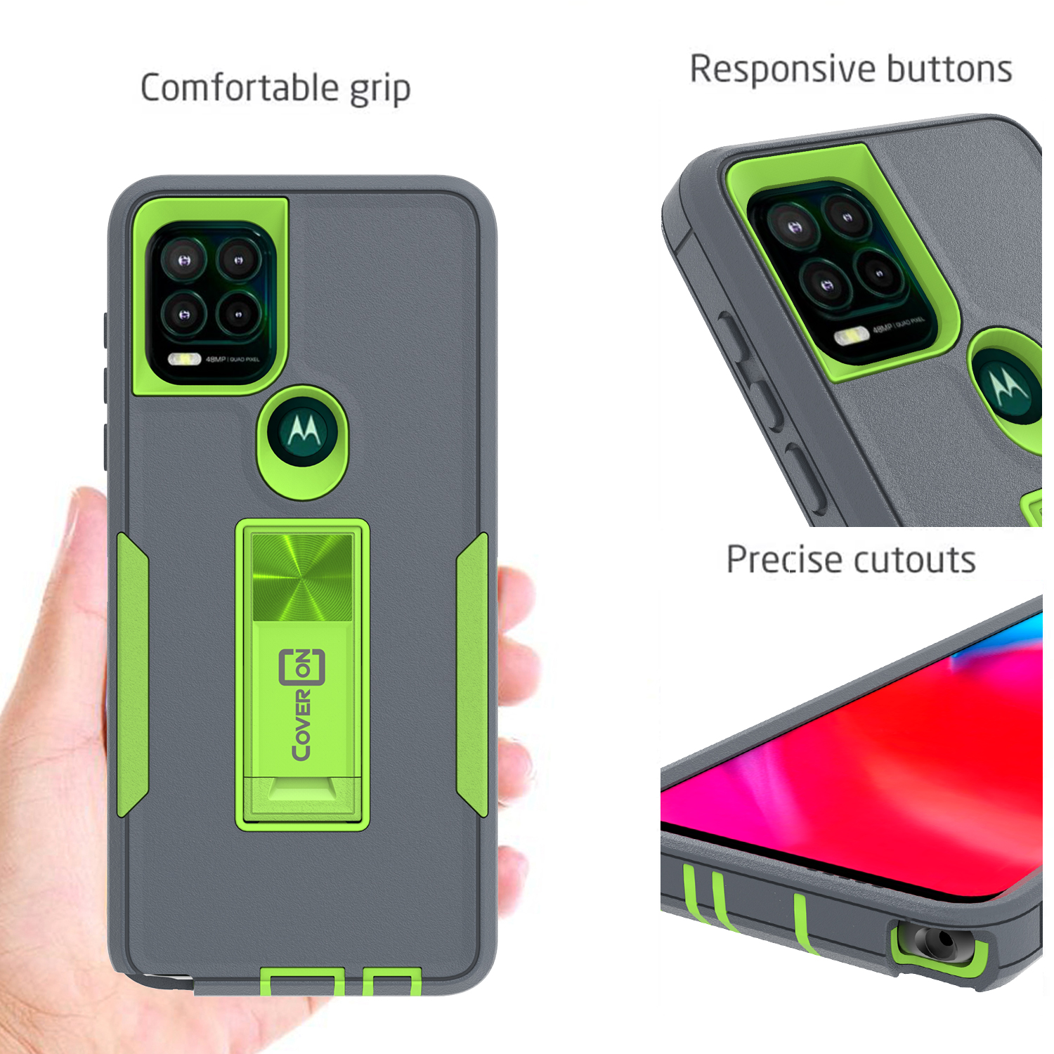 Rubberized Slim Grip Protective Back Phone Cover Case for LG G Flex 2