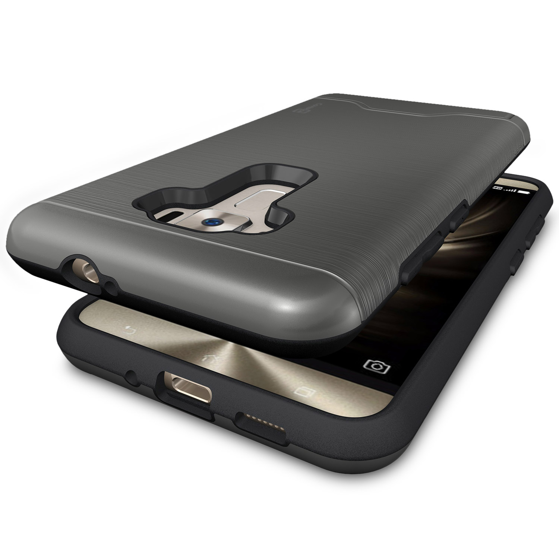 For Asus Zenfone 3 55 ZE552KL Phone Case Card Holder