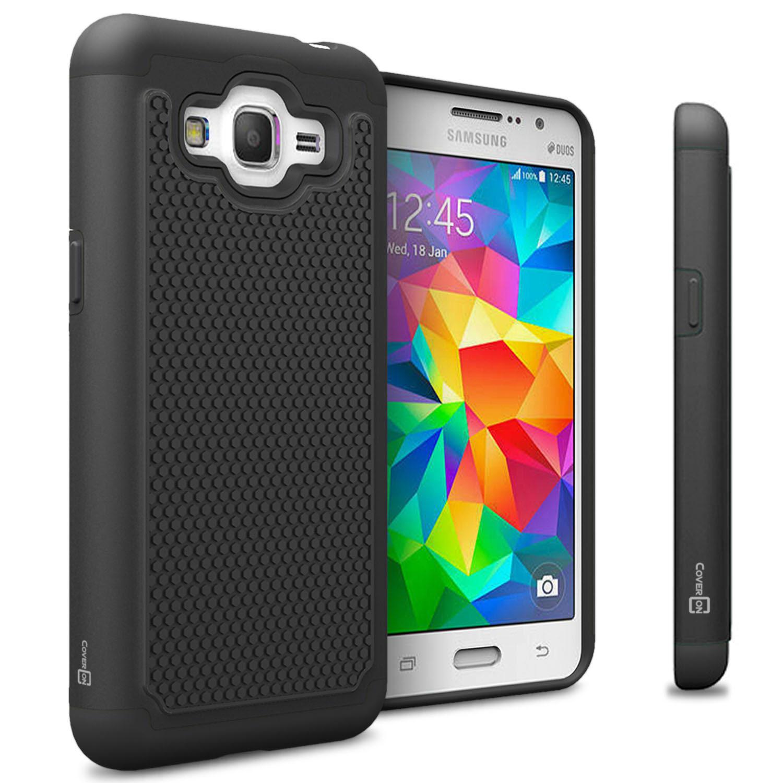 Black Hard Case for Samsung Galaxy Grand Prime Plus / J2 ...