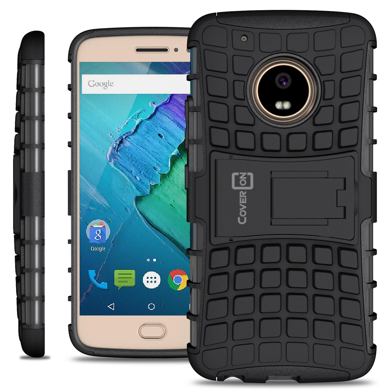 CoverON For Motorola Moto G5 Plus / Moto X 2017 Case - Kickstand Phone Cover | eBay