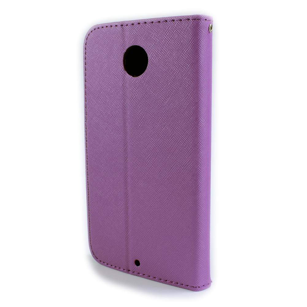 For Motorola Google Nexus 6 Cute Flip Wallet Pouch Case Cover / Screen ...