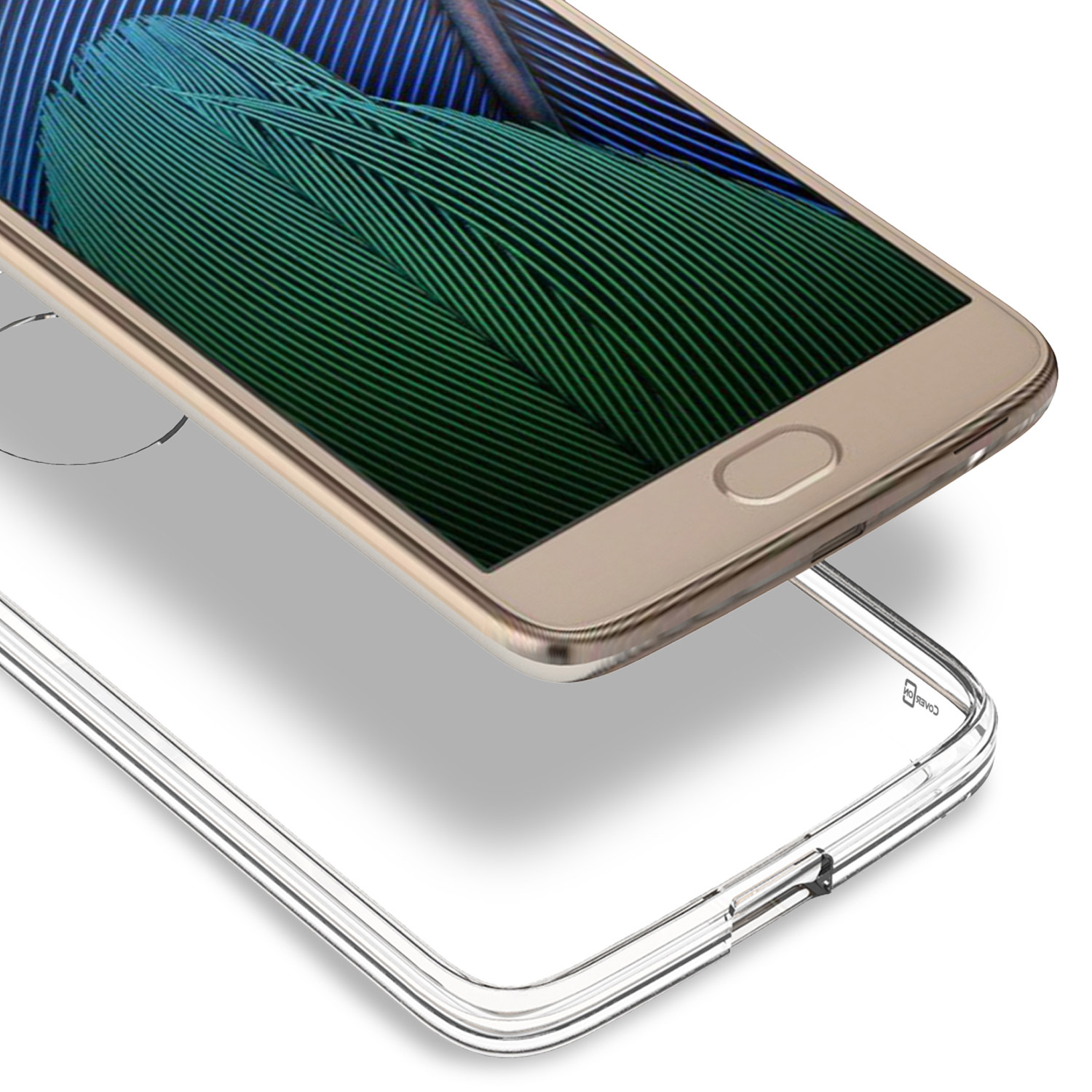 how to open moto g5 back cover