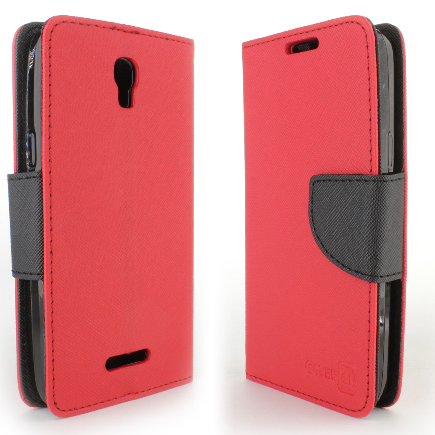 Wallet pouch design phone cover case for alcatel one touch