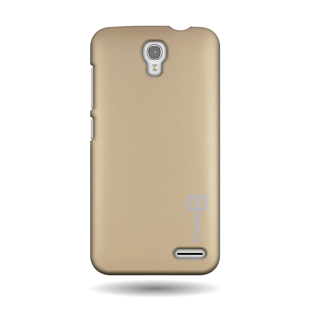 for alcatel one touch pop 2 4 5 gold hard case slim matte thin cover. Black Bedroom Furniture Sets. Home Design Ideas