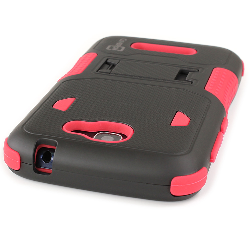 Armor-Rugged-Case-W-Kickstand-for-ALCATEL-One-Touch-Fierce-2-Pop-Icon