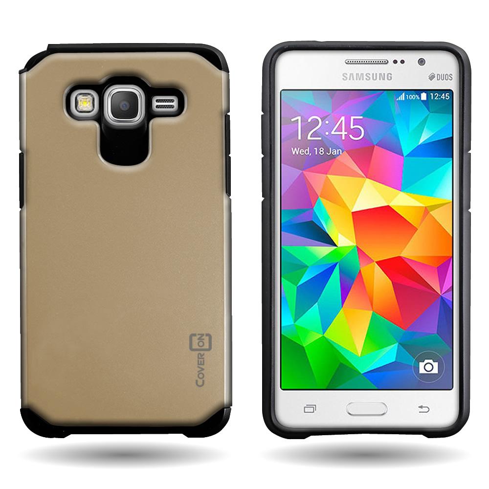 For Samsung Galaxy Grand Prime Tough Impact Hybrid Cover