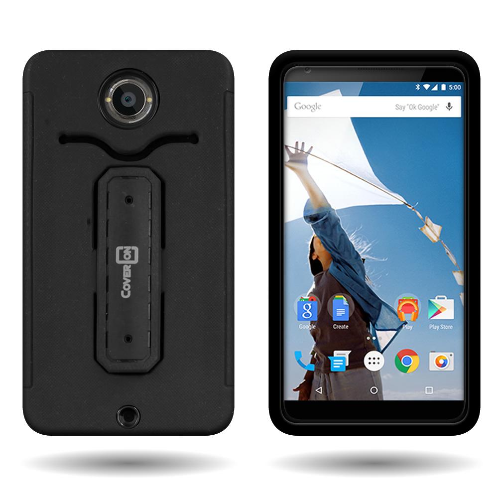 For Motorola Google Nexus 6 - Tough Kickstand Dual Layer Hybrid Phone Cover Case   eBay